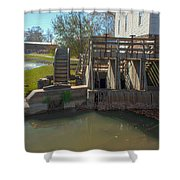 Intake At The Mill Shower Curtain