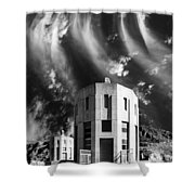 Intake Tower Hoover Dam Shower Curtain