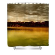 Intenisty In The Clouds  Shower Curtain