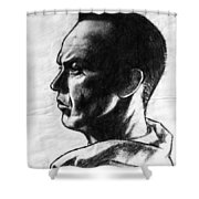 Michael Keaton Shower Curtain