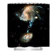 Interacting Galaxies Group Arp 194 Shower Curtain