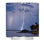 Intercoastal Shower Curtain