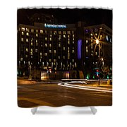 Intercontinental Hotel Shower Curtain