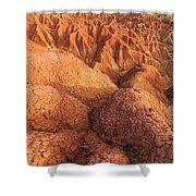 Interesting Desert Landscape Shower Curtain