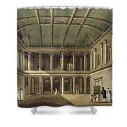 Interior Of Concert Room, From Bath Shower Curtain