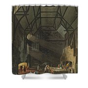 Interior Of The Kitchen, Trinity Shower Curtain