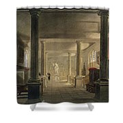 Interior Of The Law School, Cambridge Shower Curtain