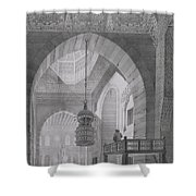 Interior Of The Mosque Of Kaid-bey Shower Curtain