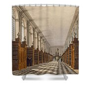 Interior Of Trinity College Library Shower Curtain