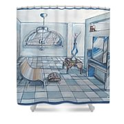 Interior Rendering 2 Shower Curtain