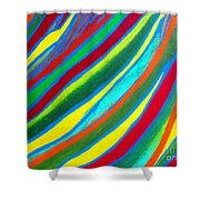 Interior Wave Olympic Shower Curtain