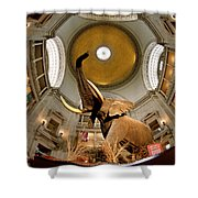 Interiors Of A Museum, National Museum Shower Curtain