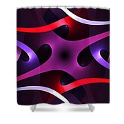 Interleaving Shower Curtain