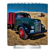 International Farm Truck Shower Curtain