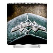 International Grille Emblem -0741ac Shower Curtain