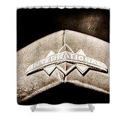 International Grille Emblem -0741s Shower Curtain