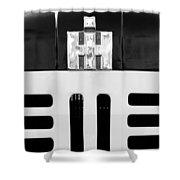 International Grille Emblem Shower Curtain