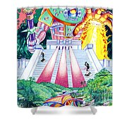 International Incident Mexico Shower Curtain