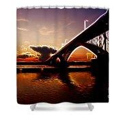 International Peace Bridge Shower Curtain