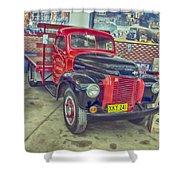International Vintage Truck Shower Curtain