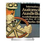 Internationale Automobile Ausftellung Shower Curtain