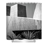 Intersection 2 Bw Las Vegas Shower Curtain