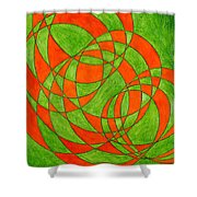 Intersection, No. 1 Shower Curtain