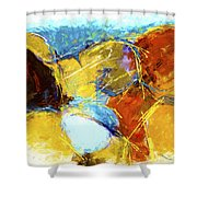 Intersections 03 Shower Curtain