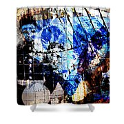 Interstate 10- Exit 257a- St Marys Rd / 6th St Underpass- Rectangle Remix Shower Curtain