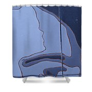 Interstate 10 Project Outtake_0010478 Shower Curtain