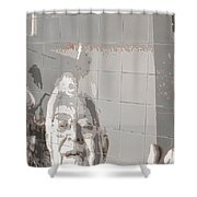 Interstate 10 Project Outtake_0010553 Shower Curtain