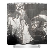 Interstate 10 Project Outtake_0010554 Shower Curtain