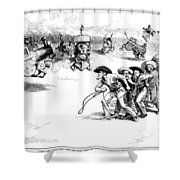 Interstate Commerce Act Shower Curtain