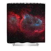 Interstellar Embryo  Ic 1848, The  Soul Shower Curtain
