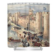 Interview Of Aigues-mortes Shower Curtain
