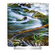 Intimate With River Shower Curtain
