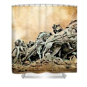 Into The Air Charging Shower Curtain