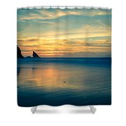 Into The Blue IIi Shower Curtain by Marco Oliveira
