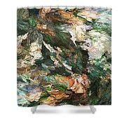 Into The Canyon Shower Curtain