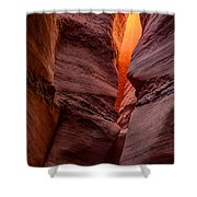 Into The Cravasse Shower Curtain