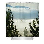 Into The Day Shower Curtain