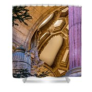 Into The Dome Shower Curtain