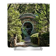 Into The Enchanted Garden Shower Curtain