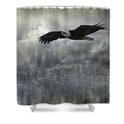 Into The Heavens Shower Curtain