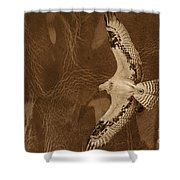 Into The Journey Shower Curtain