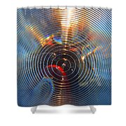 Into The Lens Shower Curtain