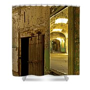 Into The Looking Glass Shower Curtain