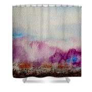 Into The Mist I Shower Curtain