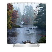 Into The Mist Shower Curtain