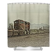 Into The Mojave Shower Curtain